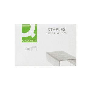 Q-Connect Staples 26/6mm (5000 Pack)