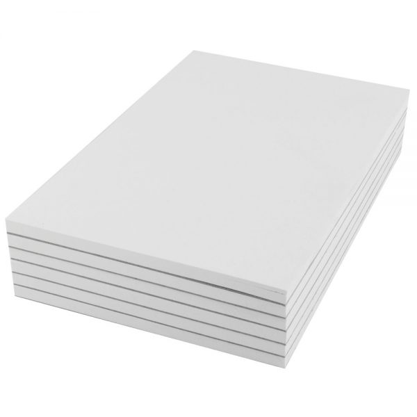 Q-Connect Plain Scribble Pad 160 Pages 203x127mm (Pack of 20)