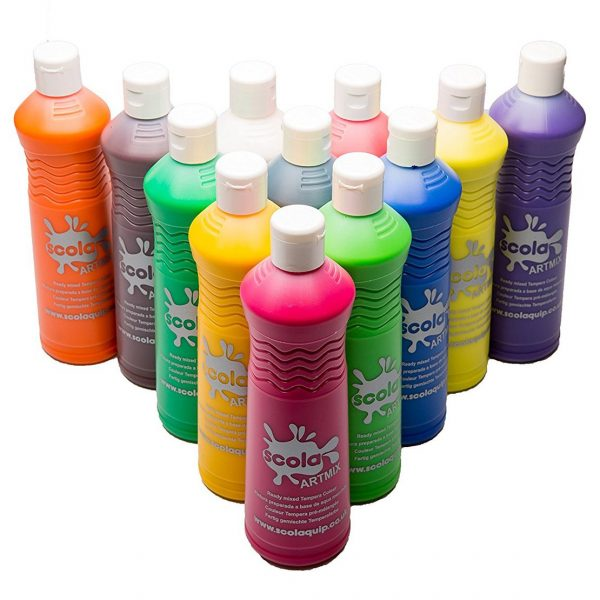 Ready Mixed Poster Paint - Loose Colours - 600ml